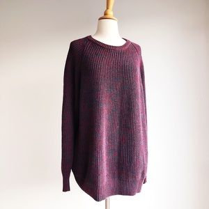 Vintage Country Road Marled Sweater, size XL
